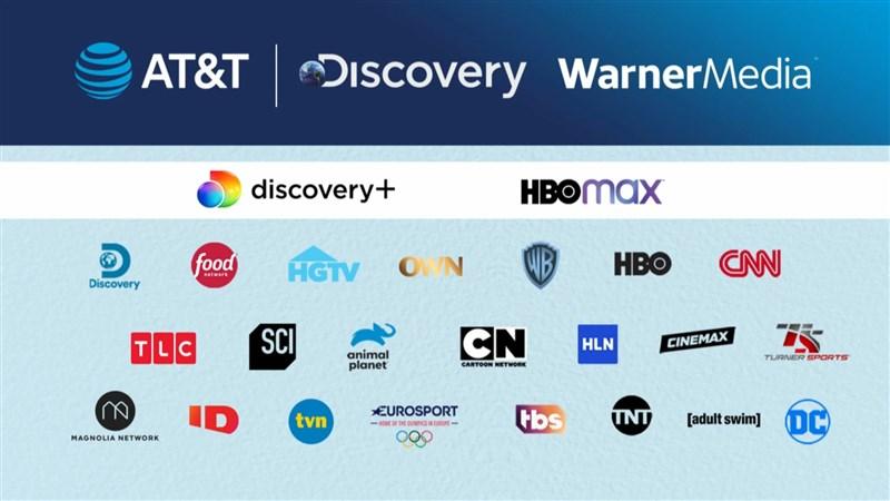 美國電信商AT&T宣布,分拆擁有HBO和CNN等電視頻道的子部門華納媒體(WarnerMedia),與擁有數個生活頻道的Discovery合併。(圖取自AT&T YouTube頻道網頁youtube.com)