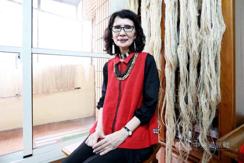 文化部公告登錄「賽德克族Gaya tminun傳統織布」為重要傳統工藝,並認定技術保存者張鳳英。(文化部提供)中央社記者陳秉弘傳真  110年5月24日