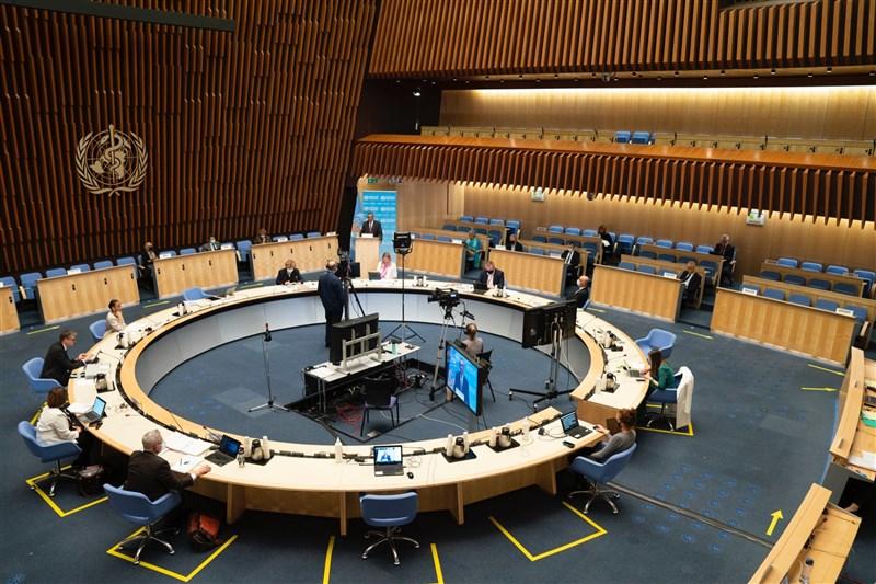 WHA24日開幕,包括史瓦帝尼、諾魯及巴拉圭等5國發言支持台灣參與WHA。(圖取自twitter.com/WHO)