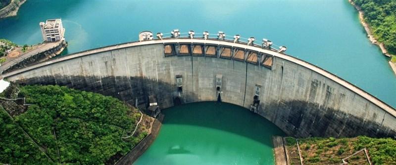 台北翡翠水庫管理局26日表示,預估翡翠水庫至8月底前供水無虞。(圖取自台北翡翠水庫管理局網頁feitsui.gov.taipei)