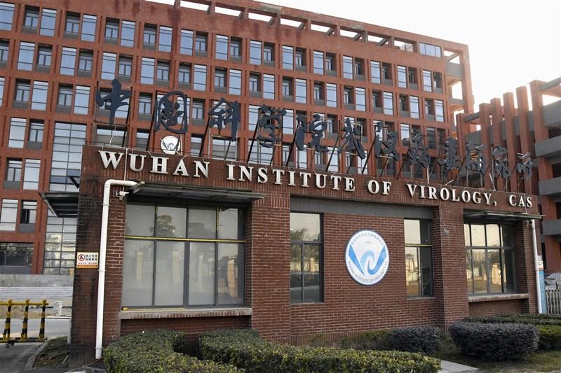 「華爾街日報」報導,美國政府國家實驗室在一份關於COVID-19起源的報告中做結論,認為病毒逸自中國武漢實驗室的假設看似可信。圖為武漢病毒研究所。(共同社)