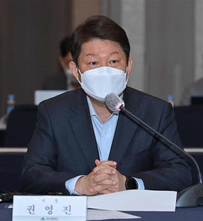 韓國大邱市長權泳臻2日才公開表示,可以透過medicity大邱協會連絡各種管道取得疫苗,但當天就遭政府打臉。(圖取自twitter.com/YoungjinKWON)
