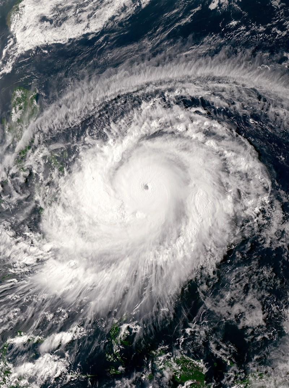 香港城市大學預測機構指出,今年4月至9月西太平洋預期將形成約20個熱帶氣旋,當中約5個預測會登陸台灣、菲律賓、越南和中國等地。(圖取自維基共享資源,版權屬公眾領域)