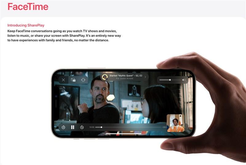 蘋果8日發表iOS 15作業系統,為iPhone帶來6大新功能,包括FaceTime重大更新以及更多利用地圖、天氣、錢包App探索世界的新方式。(圖取自蘋果公司網頁apple.com)