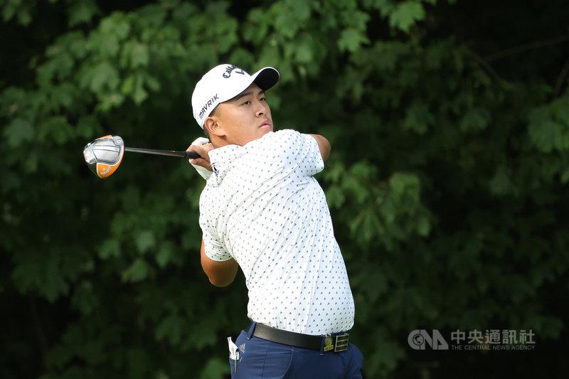 台灣旅美高球好手俞俊安靠著在美國職業高爾夫巡迴賽(PGA)大學排名拿到第4名,獲美巡次級巡迴賽資格,他轉戰職業後,目標年底前拿到美巡賽門票。(PGA TOUR提供)中央社記者黃巧雯傳真 110年6月9日