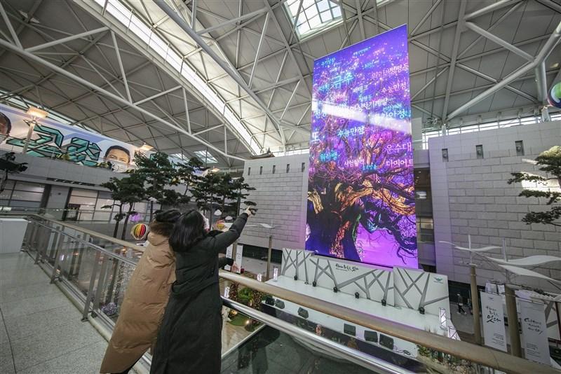 韓國政府9日正式宣布有限制開放一般觀光,並已與台灣等防疫狀況良好地區進行初步討論。圖為首爾仁川機場一景。(圖取自仁川機場網頁airport.kr)