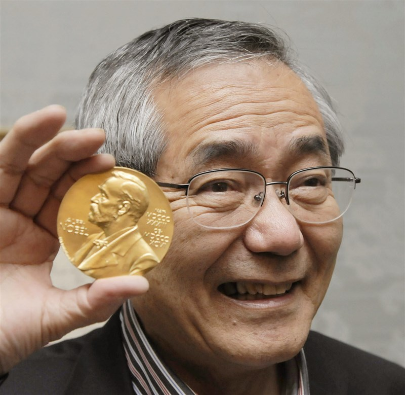 諾貝爾化學獎得主、日籍化學家根岸英一6日離世,享壽85歲。(共同社)