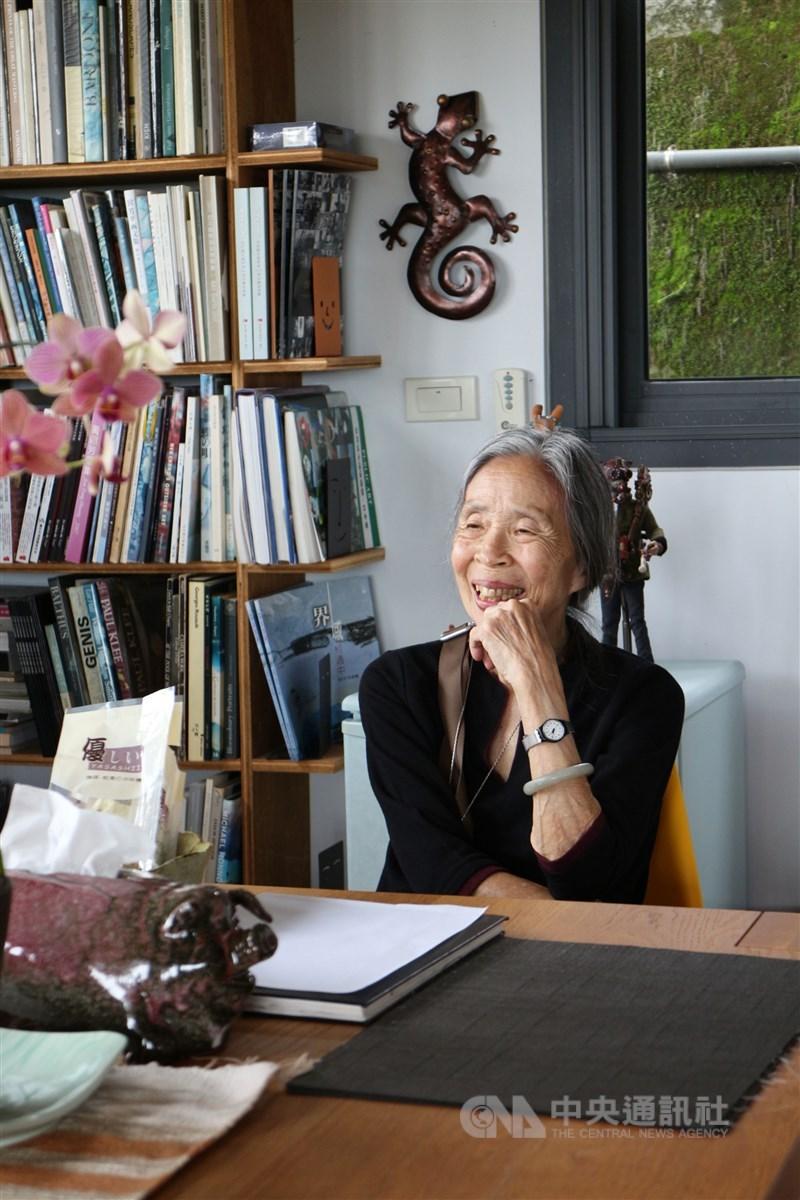 「台灣圖書館之母」王秋華14日下午2時因心臟衰竭辭世,享壽96歲。(中央社檔案照片)