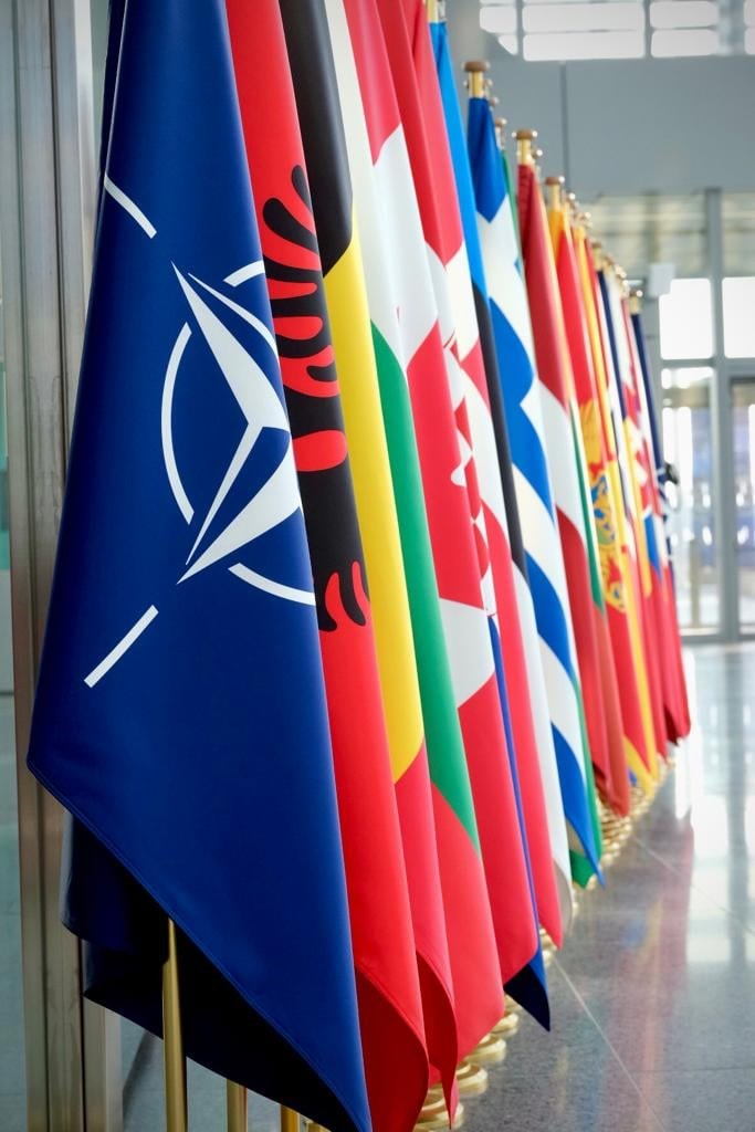 路透社報導,北大西洋公約組織預計14日發布峰會最終版公報,內容將正式指出中國行為構成「系統性挑戰」。(圖取自facebook.com/NATO)