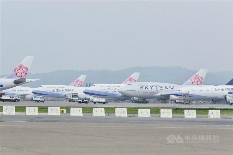 中華航空15日宣布,洛杉磯旅客需求成長,7月及8月增4班加州安大略機場航班。(中央社檔案照片)