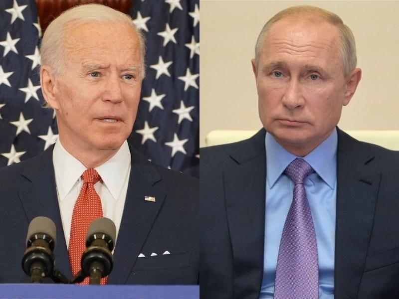 美國總統拜登(左)與俄羅斯總統蒲亭(右)16日在瑞士日內瓦舉行面對面峰會。美國正關切俄國網攻和轉向獨裁的危險趨勢,峰會現場勢將瀰漫冷戰時期的對峙氛圍。(左圖取自facebook.com/joebiden,右圖取自twitter.com/KremlinRussia_E)