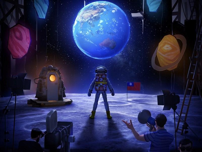 導演徐漢強VR作品「星際大騙局之登月計劃」,邀請觀眾扮演登月的民族英雄,透過VR技術實際體驗太空漫遊,最後的反轉結局更是讓人驚艷。這次也將登上「瑞士國際奇幻影展」,展現台灣豐沛創意能量。(文化部提供)中央社記者王心妤傳真 110年6月17日