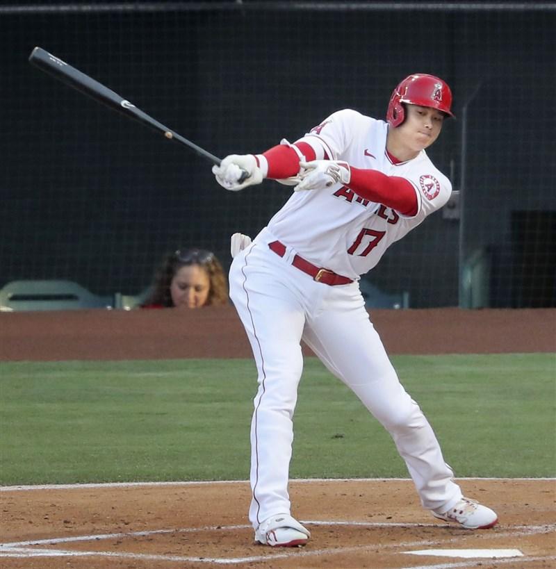 美國職棒明星賽7月12日、13日登場,球星大谷翔平(前)將成為大聯盟史上第一名參與全壘打大賽的日本人。(共同社)