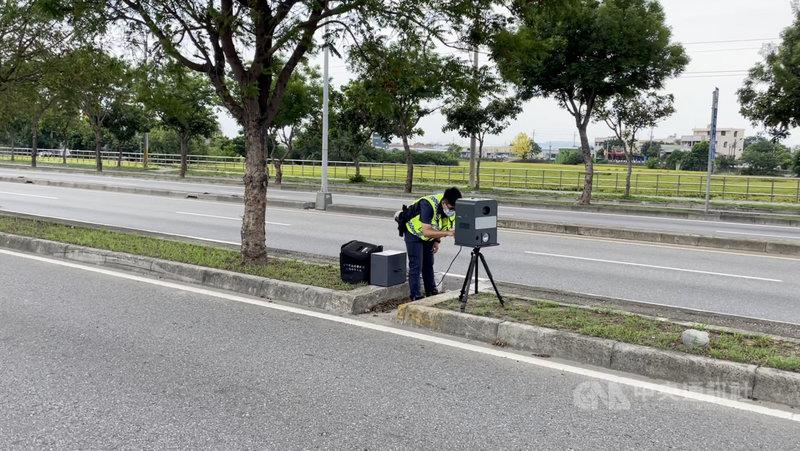 台中市警察局交通大隊統計顯示,6月1日至17日全市死亡(A1)交通事故共計發生10件,造成10人死亡,其中有7件車禍涉及違規超速,警方從21日起到27日將展開機動測照大執法。(警方提供)中央社記者郝雪卿傳真  110年6月21日
