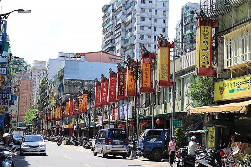 鄰近捷運南勢角站的「緬甸街」華新街,主要組成不是移工,而是華僑或國共戰爭下的異域孤軍後代。(圖取自新北市觀光旅遊網tour.ntpc.gov.tw)