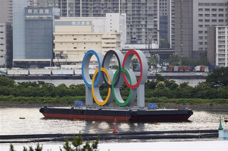日媒報導,參加東奧入境日本的外國選手及相關人士當中,已知確診2019冠狀病毒疾病者有6人。(共同社)