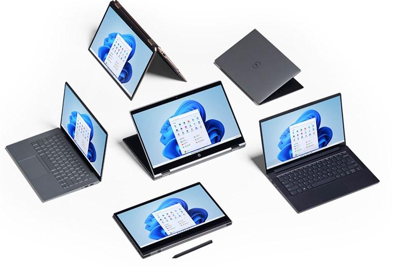 Windows 11兼具全新、簡潔的介面及直觀的功能操作,使用者可以透過點擊螢幕中央的「開始鍵」,更迅速地找到所需要的內容。(圖取自微軟網頁microsoft.com)