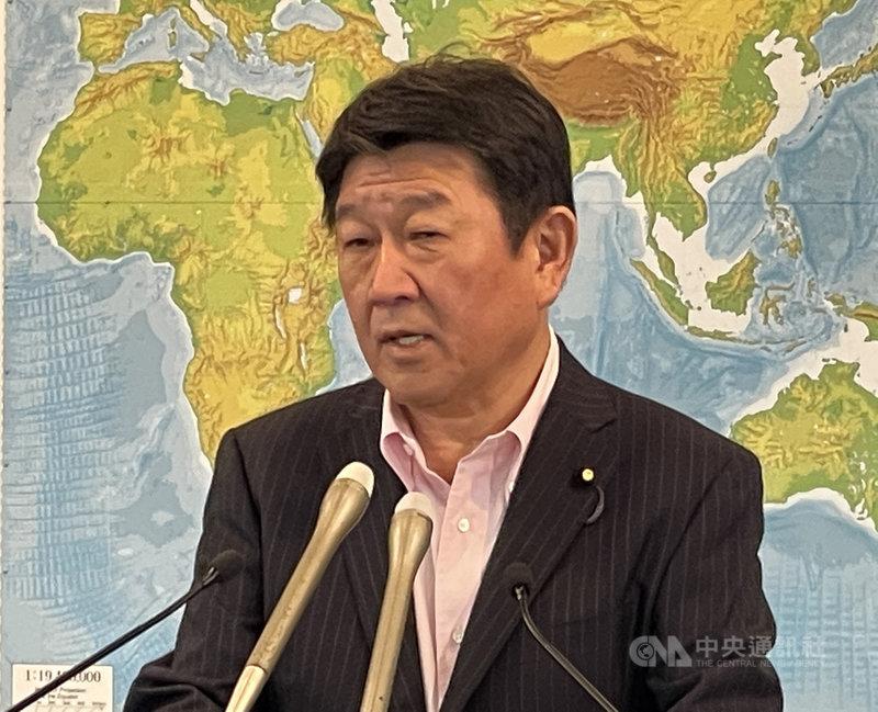 日本外相茂木敏充28日啟程前往義大利,他將出席20國集團(G20)外長會議,並預定訪問波羅的海3國。(中央社檔案照片)