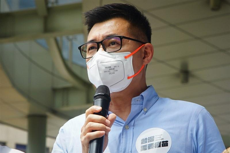 國民黨主席江啟臣26日表示,民間團體採購疫苗若涉及要與對岸溝通,國民黨會盡全力幫忙。(中央社檔案照片)
