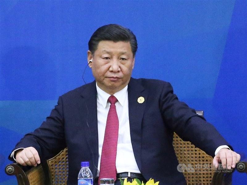 前中國駐雪梨總領事館政治領事陳用林受訪表示,習近平(圖)的下一步需要藉著併吞台灣以鞏固無限期連任的正當性。(中央社檔案照片)