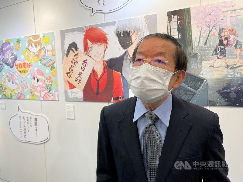 駐日代表謝長廷1日被問到日本將追加提供給台灣的AZ疫苗是否於8日運抵台灣一事時答說:「不能說。」他表示,代表處還在處理此事,一切都很順利。中央社記者楊明珠東京攝  110年7月1日