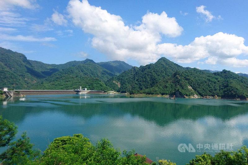 曾文水庫經過5月底以來的幾波降雨後,蓄水量持續上升,至5日已突破2億9000萬立方公尺,成為目前全台蓄水量最高的水庫。(南區水資源局提供)中央社記者楊思瑞台南傳真 110年7月5日