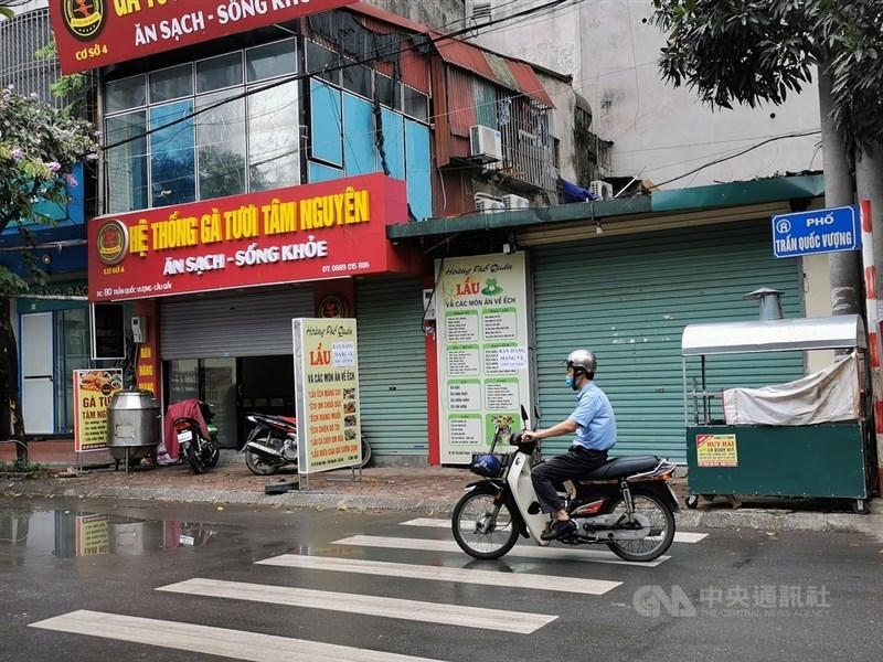越南新一波COVID-19本土疫情迅速蔓延,迄今2個多月時間已有逾2萬人染疫。(中央社檔案照片)