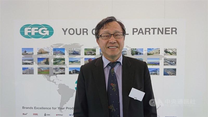 駐德國代表謝志偉13日於臉書粉專發文,談及台灣向德國採購BNT疫苗的波折與感觸。(中央社檔案照片)