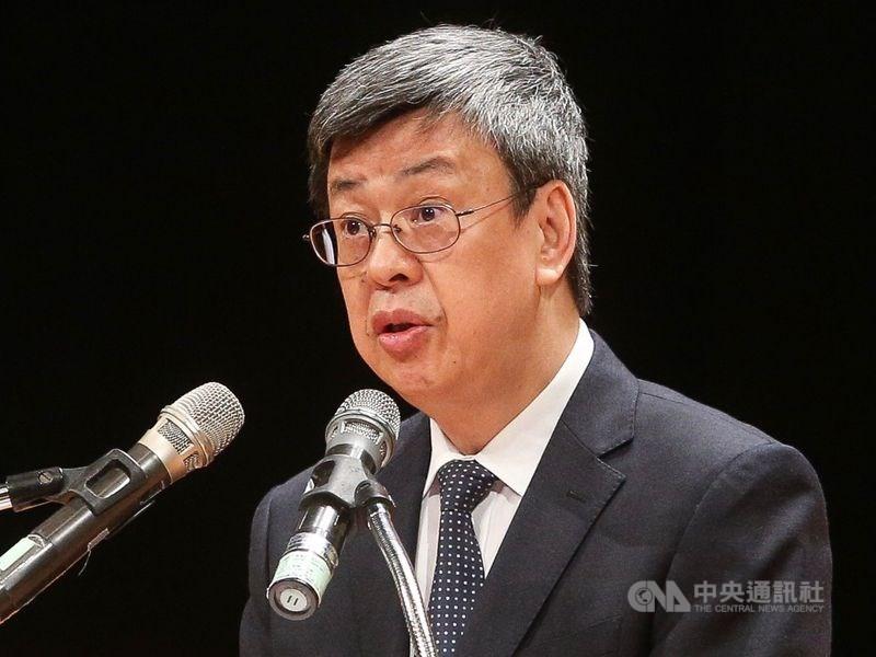 前副總統、中研院士陳建仁15日深夜在臉書發文透露,自己打到高端疫苗臨床試驗的安慰劑。(中央社檔案照片)