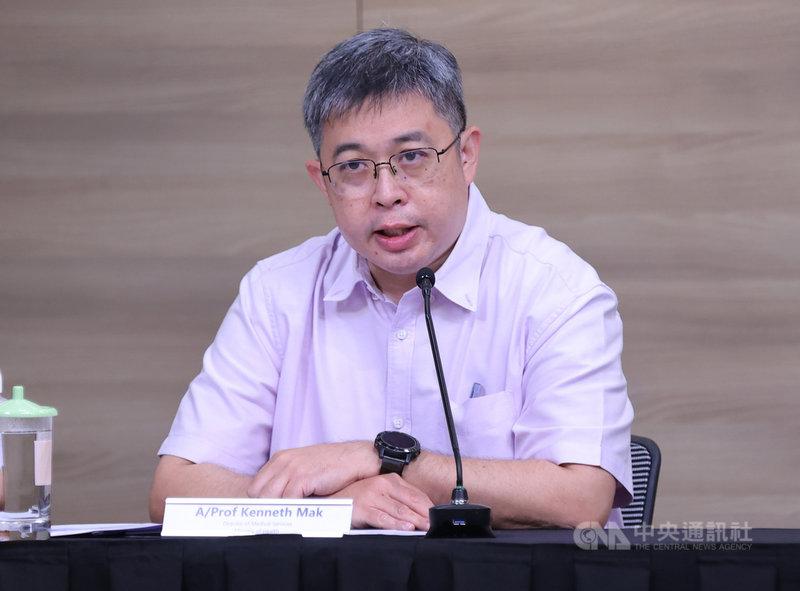 新加坡衛生部醫藥服務總監麥錫威20日表示,裕廊漁港感染群發現的Delta變異株可能來自於印尼或其他地方的漁船。(新加坡通訊及新聞部提供) 中央社記者侯姿瑩新加坡傳真 110年7月20日