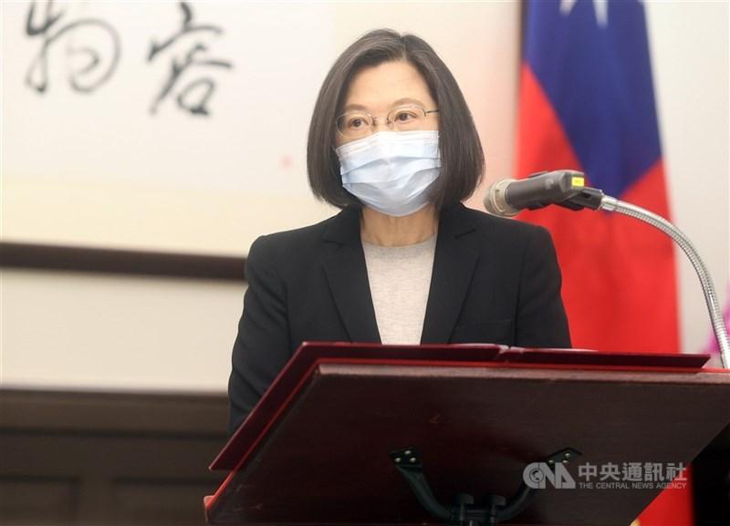 總統蔡英文表示,台灣即將在立陶宛設立「駐立陶宛台灣代表處」,立陶宛也計畫今年秋天在台灣設立辦事處,兩國的友好關係將更上一層樓。(中央社檔案照片)