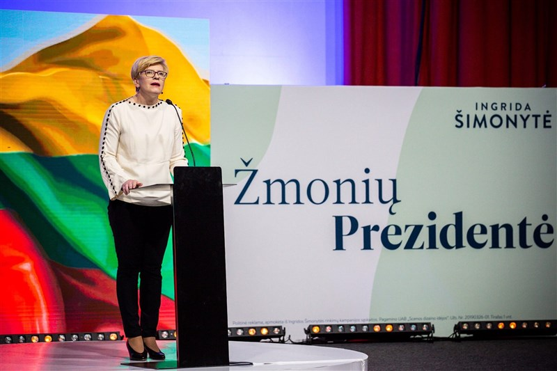 台灣與立陶宛將互設代表處。英國「泰晤士報」19日刊登的專欄評論文章指出,立陶宛對抗中國及獨裁統治的作為值得各國學習。圖為立陶宛總理席莫尼特。(圖取自facebook.com/ingrida.simonyte1)