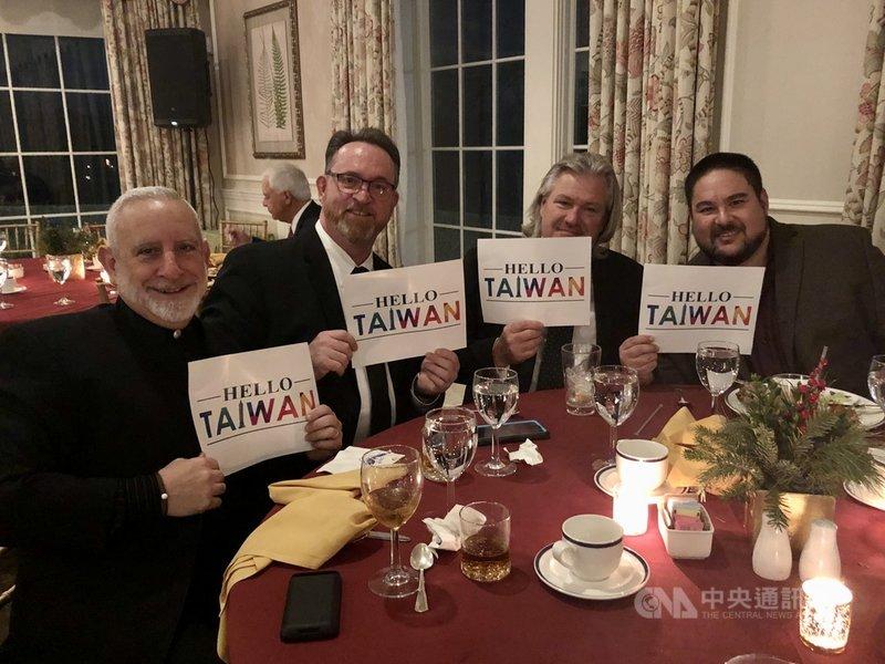 HELLO TAIWAN近年從美國的台僑社團逐漸變成一股用友善、沒有政治色彩、以大家都懂的語言向外國友人介紹台灣的行動。(江明信提供)中央社記者周世惠舊金山傳真 110年7月21日