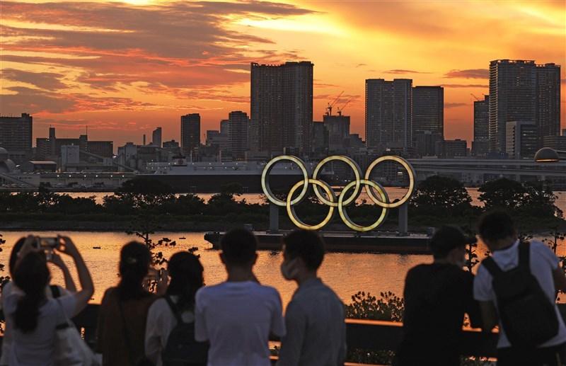 西非國家幾內亞共和國因擔憂COVID-19疫情,已於21日取消參與東京奧運。圖為21日東京街景。(共同社)