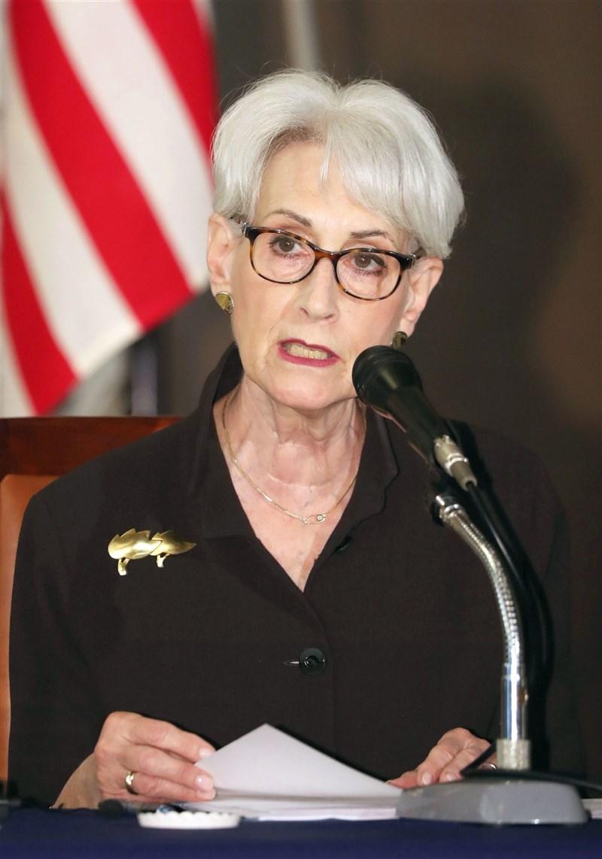 美國國務院表示,副國務卿雪蔓25至26日將訪中國。(共同社)