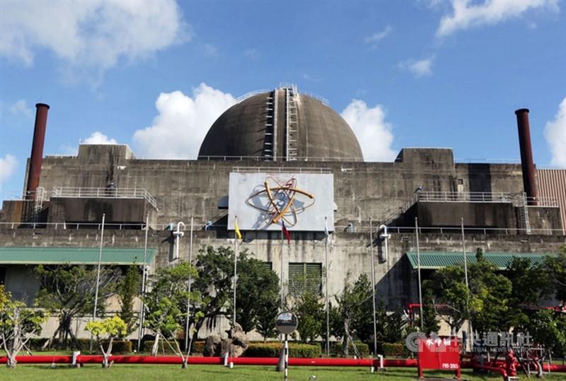 繼核一、核二廠後,台電啟動核三廠除役前期作業,原能會26日表示,已於下午收到核三廠除役許可申請。圖為核三廠一號機。(中央社檔案照片)