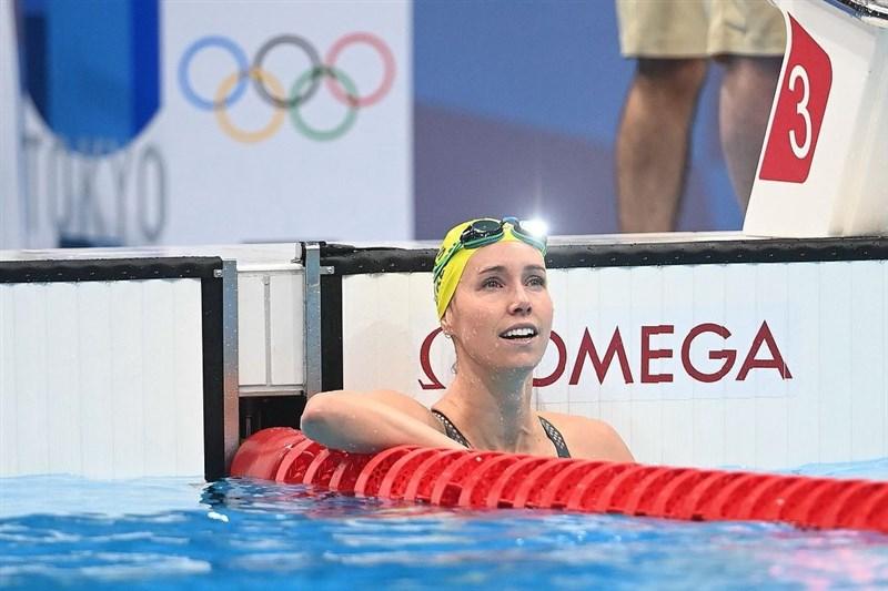澳洲游泳好手麥肯伊30日以51秒96的史上第2快速度,在東京奧運女子100公尺自由式奪下金牌。(圖取自instagram.com/emmamckeon)