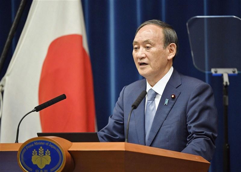 日本首相菅義偉30日被問及台海情勢時表示,為了保護日本的利益,將藉由日美同盟的遏止力,並與東南亞國家協會志同道合國家合作的同時,進行應對。(共同社)