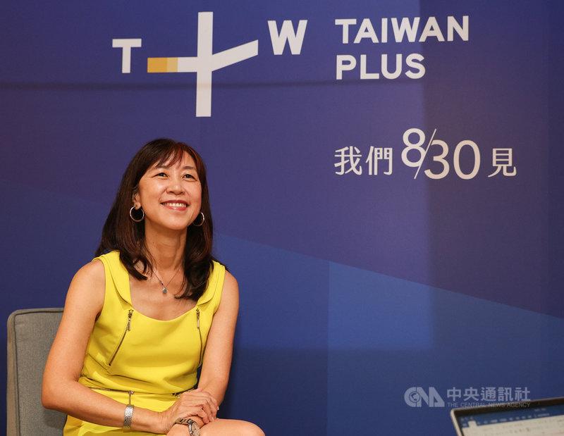 國際影音串流平台執行長蔡秋安扛下第一棒,為平台打下基礎,她30日受訪表示,平台不是外交部,不是觀光局,「我們在這裡要做的是說台灣的故事,展現台灣的自由民主以及台灣價值。」中央社記者謝佳璋攝 110年7月30日
