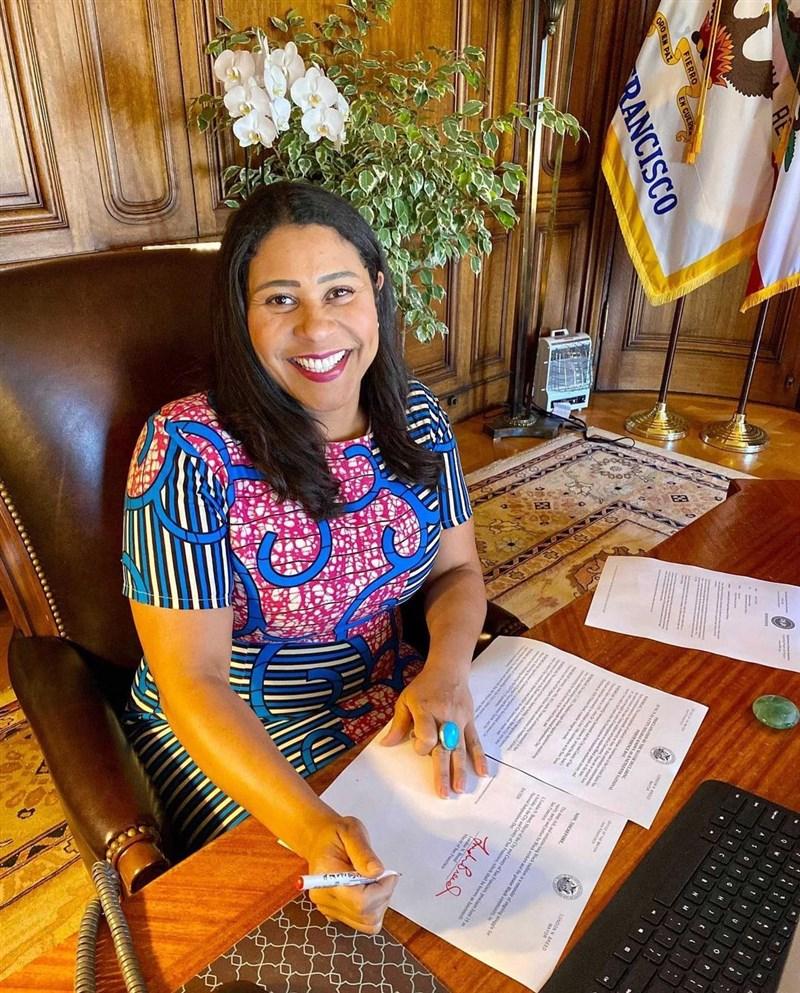 舊金山市長布里德(圖) 任內因3項重大道德違規,將被罰款約新台幣64萬元。(圖取自instagram.com/londonbreed)