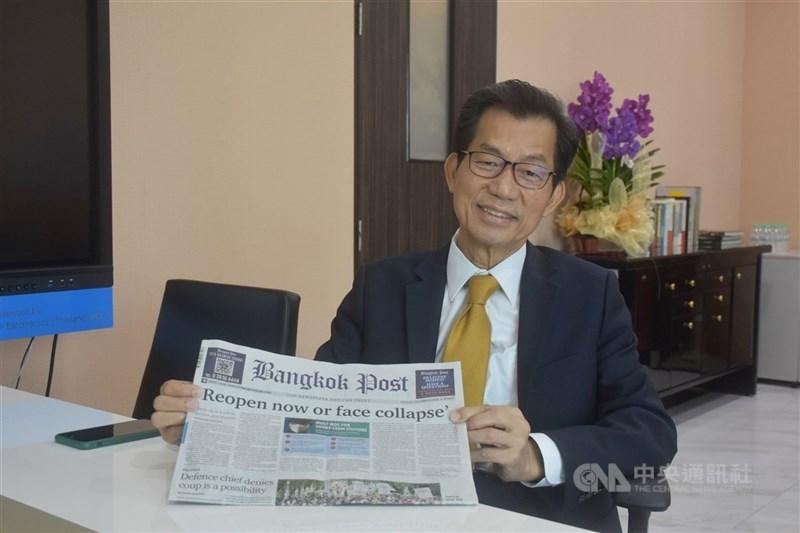 總統府4日發布總統令,駐泰國代表李應元(圖)已准辭職,應予免職,自9月1日生效。(中央社檔案照片)