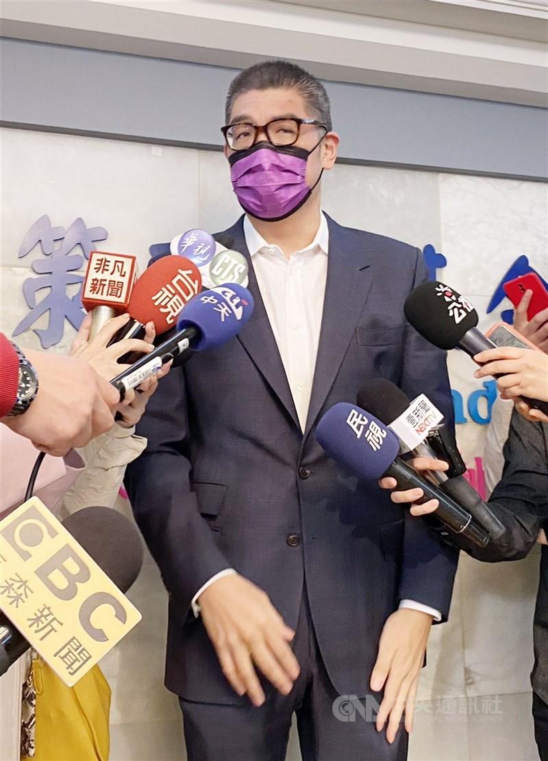 國民黨智庫副董事長連勝文(圖)5日表示,他考量父親連戰的身體狀況,決定不參與黨主席選舉。(中央社檔案照片)