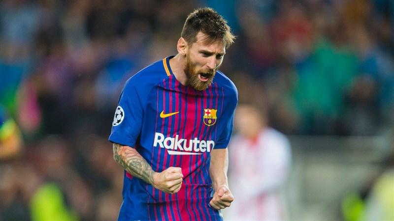 西班牙甲級足球聯賽勁旅巴塞隆納隊5日表示,球隊雖已與阿根廷籍球星梅西就新約達成協議,但因為財務和結構性的續約障礙,梅西仍將離開。(圖取自facebook.com/fcbarcelona)