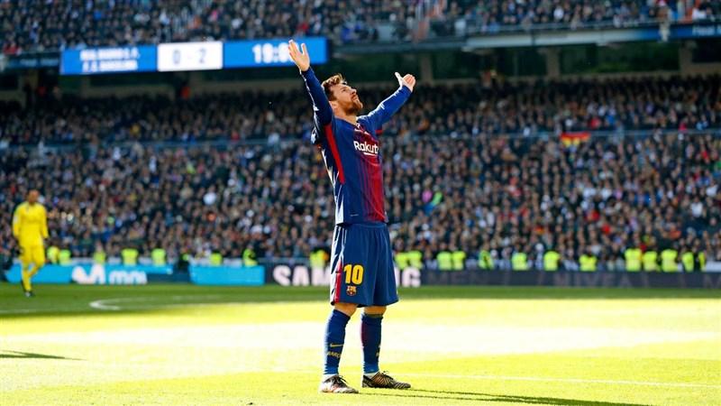 西班牙甲級足球聯賽勁旅巴塞隆納5日宣布巨星梅西將離開球隊。(圖取自facebook.com/fcbarcelona)