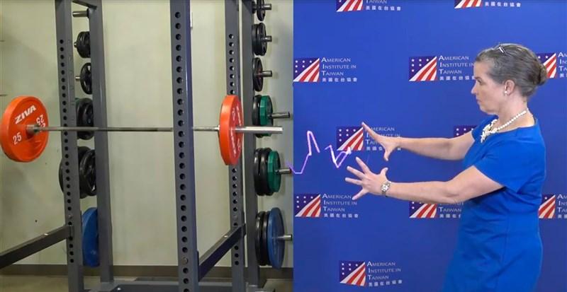 NASA黑客松台北場10月登場,美國在台協會處長孫曉雅特別拍攝短片,鼓勵民眾參與這項國際盛事。(取自AIT臉書)中央社記者鍾佑貞傳真 110年9月9日