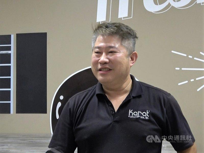 來自台灣的俞宗明(Alan Yu)20年前在洛杉磯創立珍珠奶茶品牌樂立杯(Lollicup)之後,發展成食品耗材的供應與製造商,客戶遍及全美。中央社記者林宏翰洛杉磯攝  110年9月11日