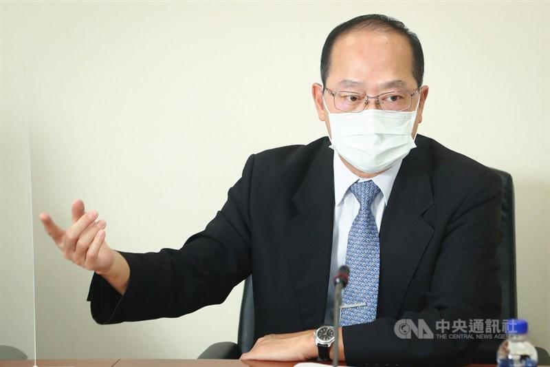 談到理專亂象,金管會銀行局副局長林志吉認為,銀行內控出現兩個問題。中央社記者王騰毅攝 110年9月12日
