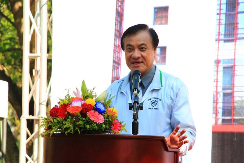 圖為前總統府秘書長蘇嘉全。(中央社檔案照片)