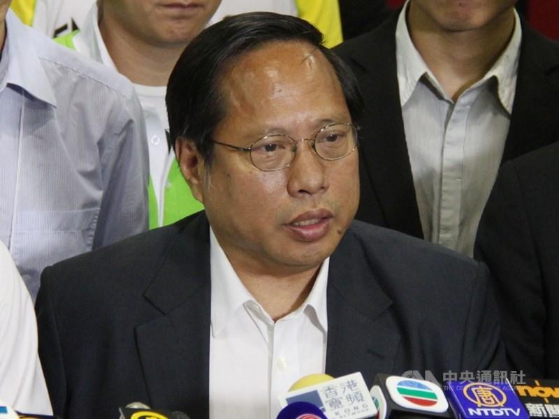 圖為香港民主黨前主席何俊仁。(中央社檔案照片)