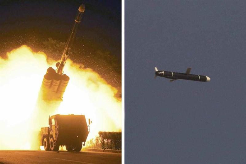 北韓官媒「勞動新聞」報導指出,北韓11日與12日成功試射新開發的新型長程巡弋飛彈。(圖取自勞動新聞網頁rodong.rep.kp/ko)